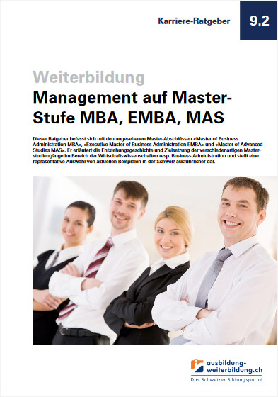Ratgeber Management Master Studium